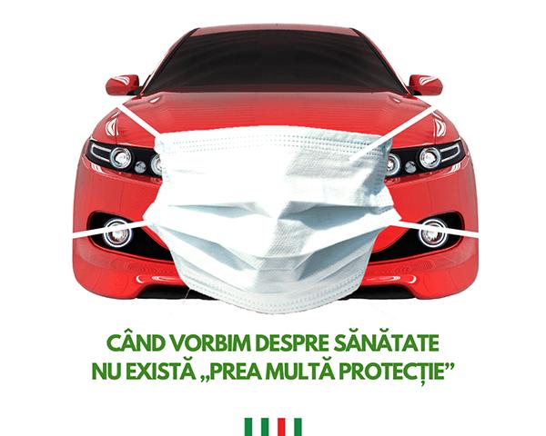 Protectie COVID Auto Total 1